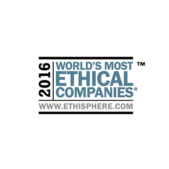 World's Most Ethical Companies 2015 award